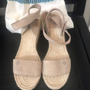 Tory Burch Espadrille Wedge Sandals